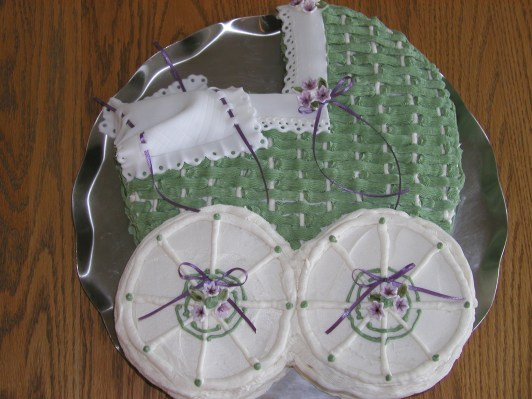 Baby Shower Carriage Cake - 2006