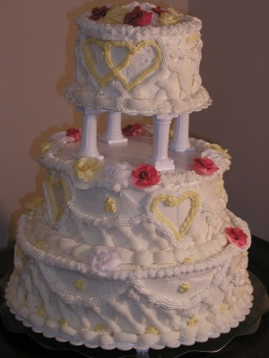 Replica Wedding Cake