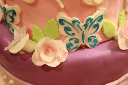 Baby Shower Cake Detail- 2013