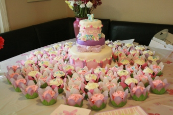 Baby Shower Cake - 2013