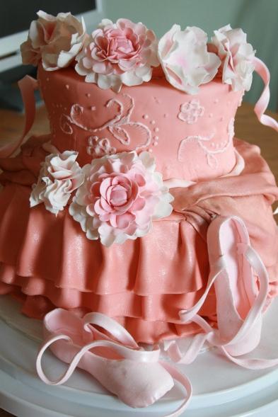 Ballet Dress Cake Take 1- 2015