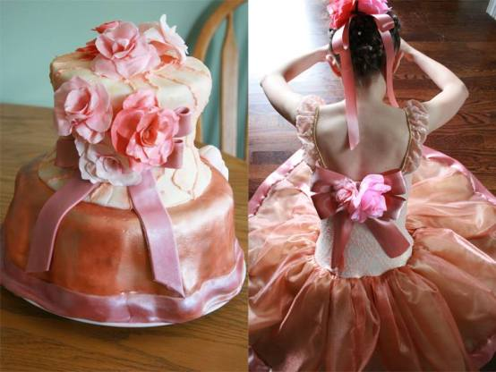 Ballet Dress Cake Side by Side Inspiration- 2015