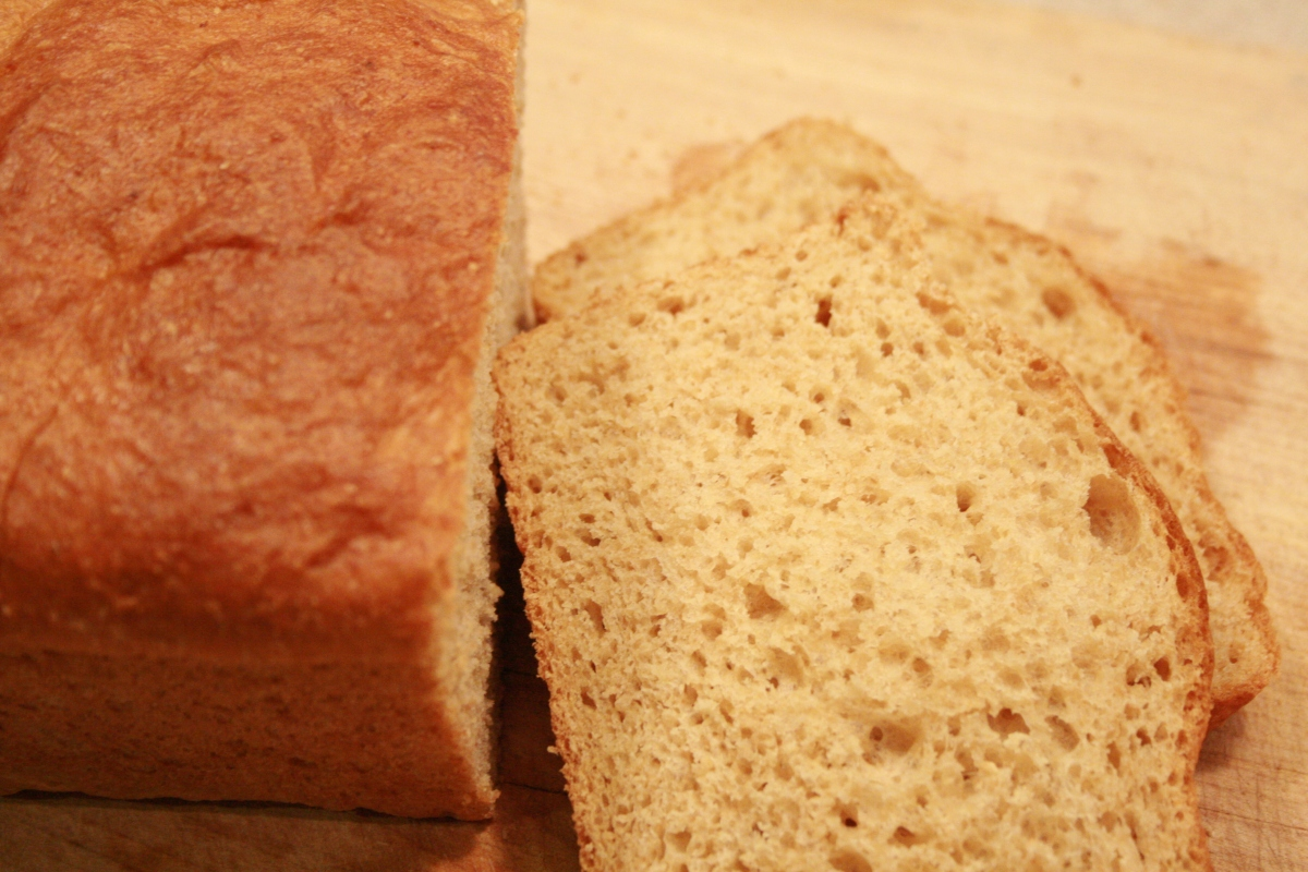 Honey Whole Wheat Bread - Finished