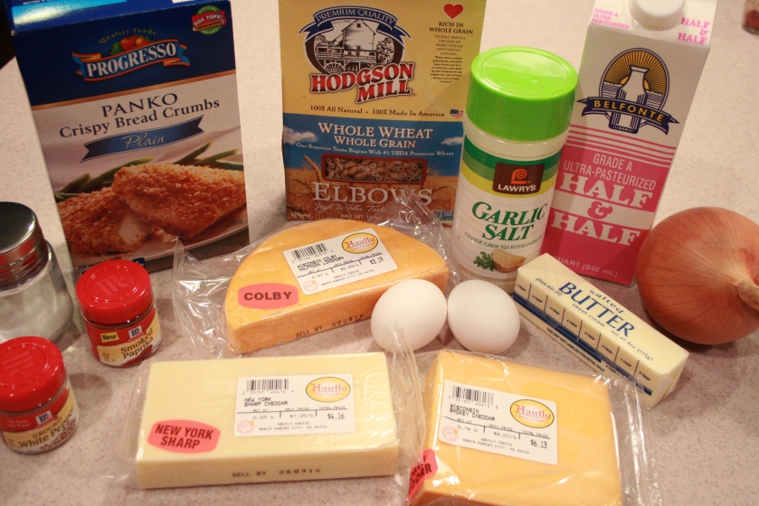 Baked Mac'N'Cheese - Ingredients