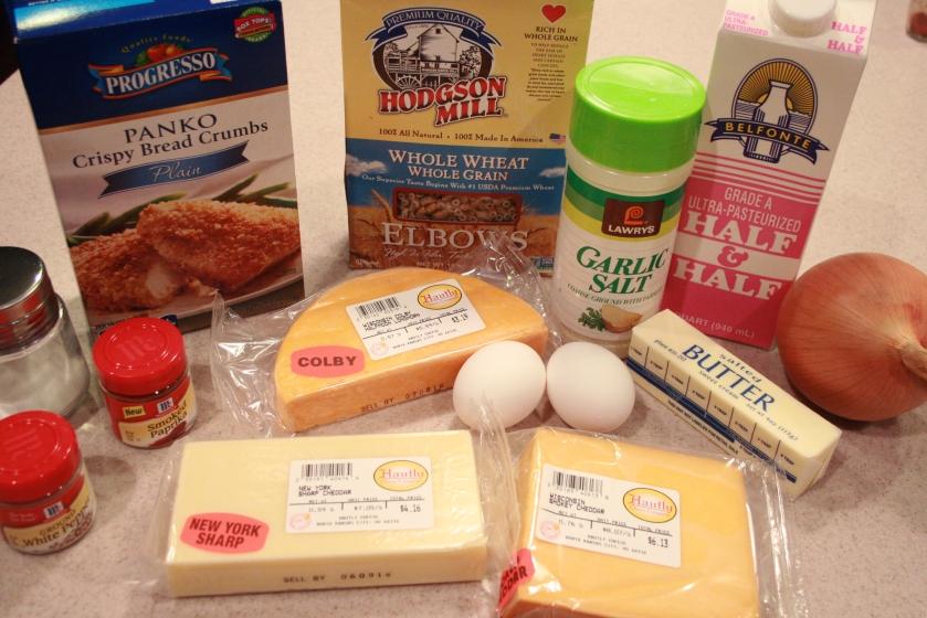 Baked Mac'N'Cheese - Ingredients