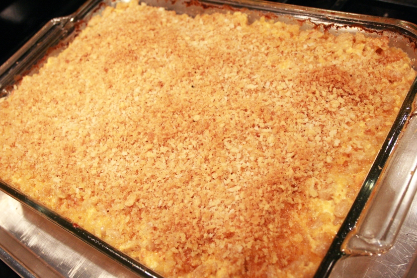 Baked Mac'N'Cheese - After Baking