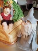 LOTR/Hobbit Cake Detail