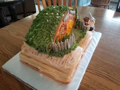 LOTR/Hobbit Cake