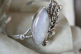 Moonstone Dragon Bracelet