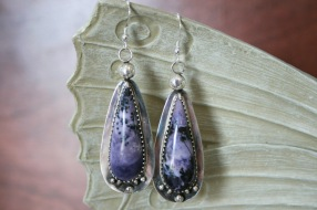 Tiffany Stone Drop Earrings
