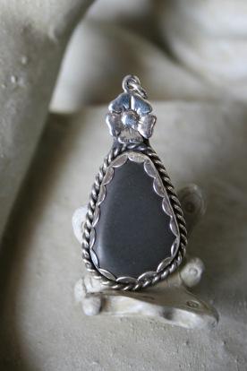 Found Stone Pendant