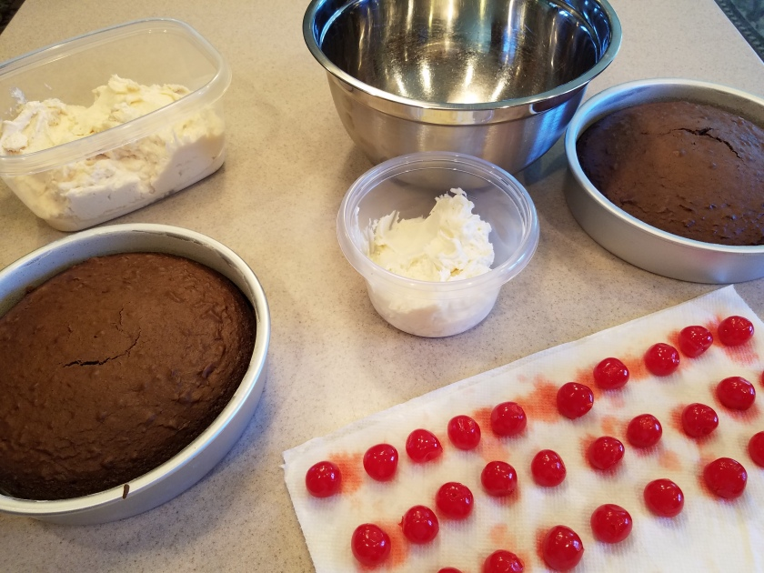 Chocolate Covered Cherry Cake Pops - Ingredients
