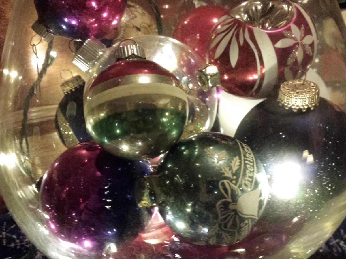 Christmas Ornaments & Lights