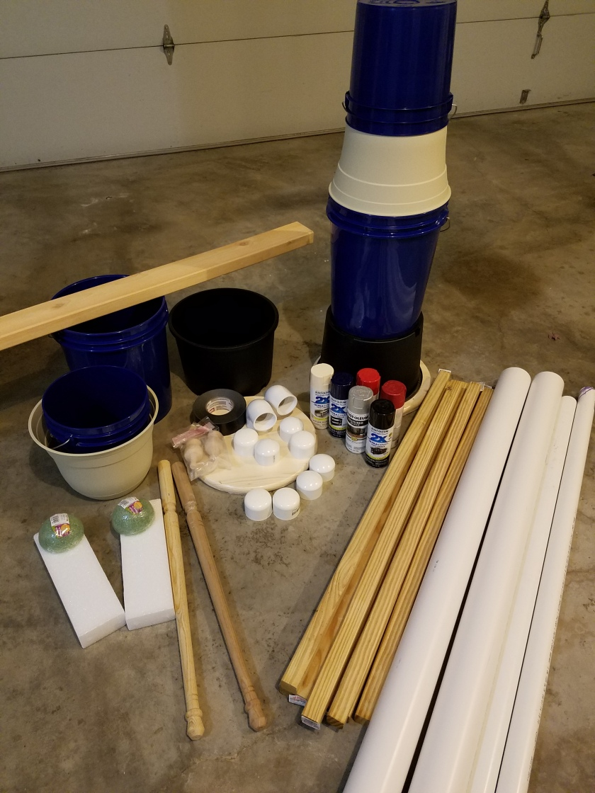 Giant Nutcracker Project - Nutcracker Parts