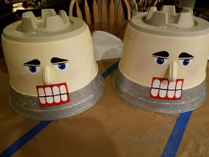 Giant Nutcracker Project - Painted Heads