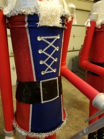 Giant Nutcracker Project - Finished Body Detail
