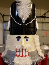 Giant Nutcracker Project - Finished Head Detail
