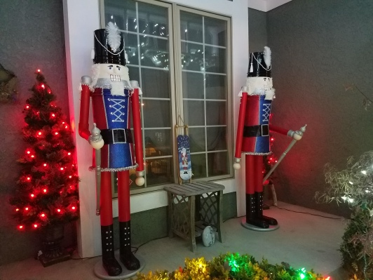 Giant Nutcracker Project - Finished In Place