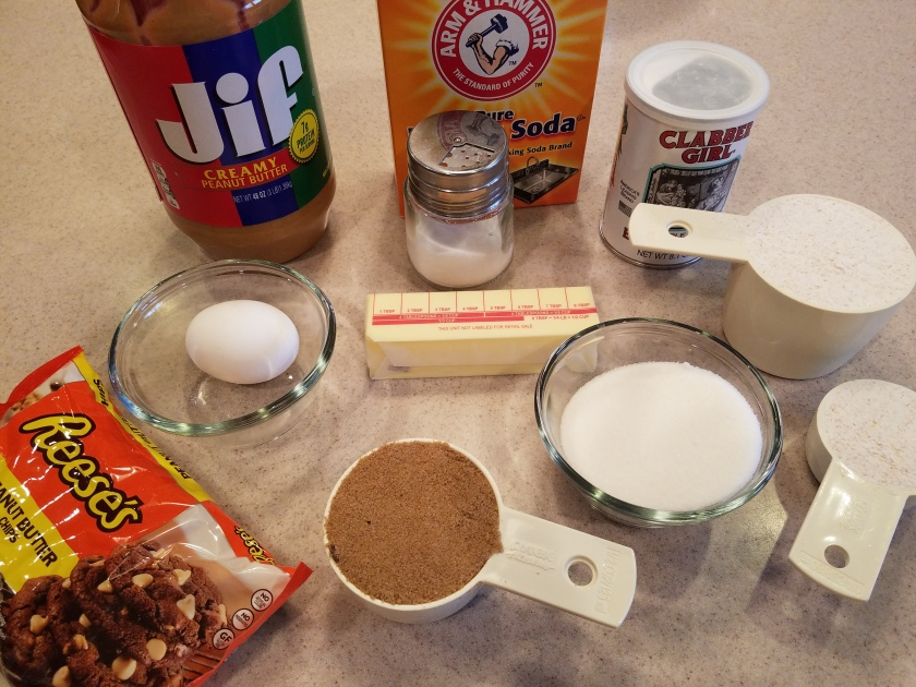 Peanut Butter Chip Cookies - Ingredients