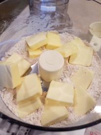 Pie Crust - Adding Butter
