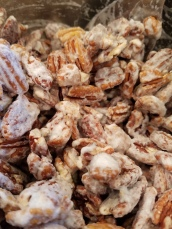Candied Pecans - Egg White Coat