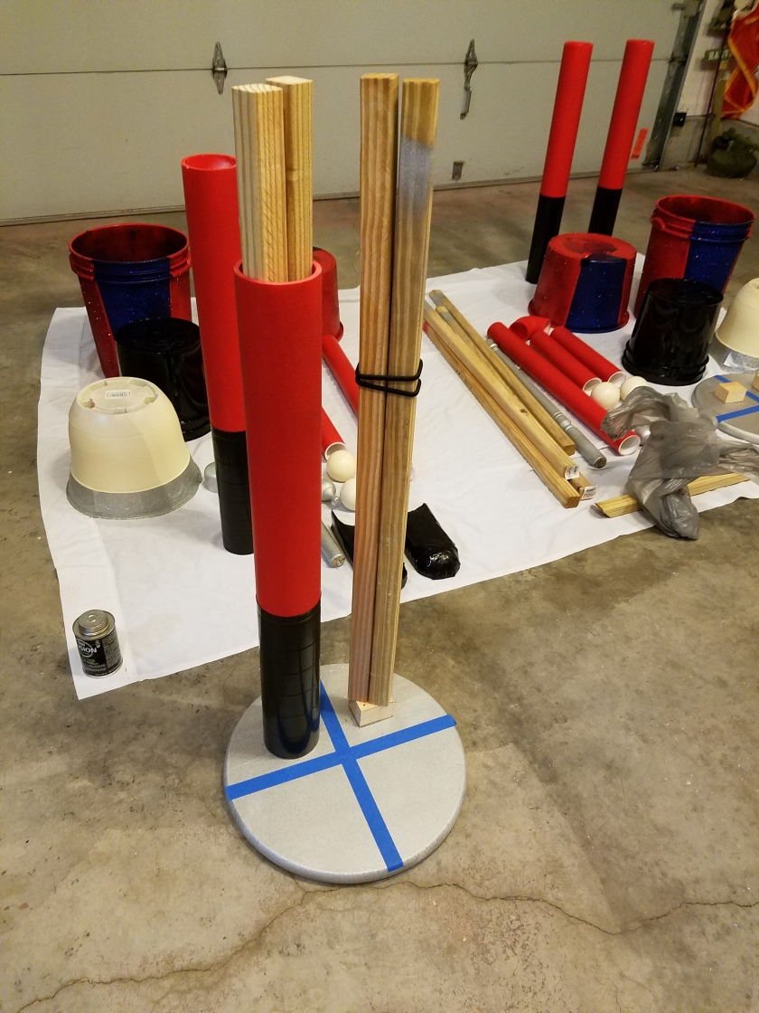Giant Nutcracker Project - Leg Assembly