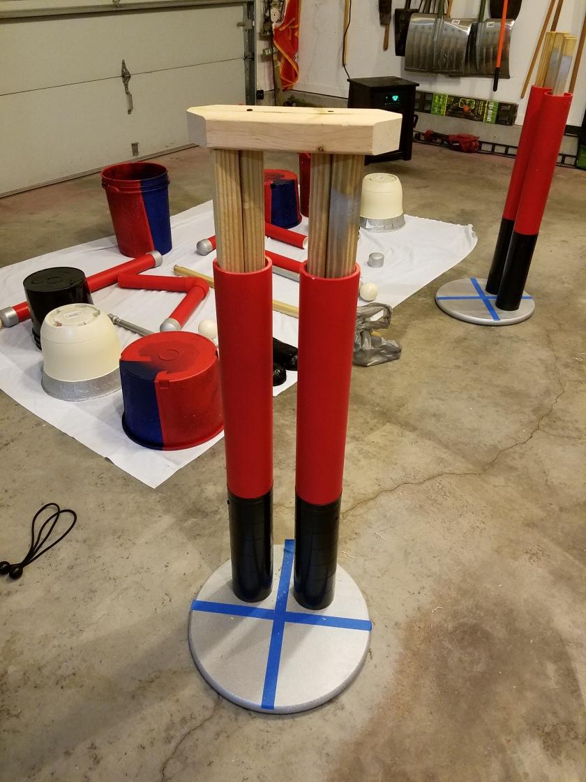 Giant Nutcracker Project - Leg Assembly