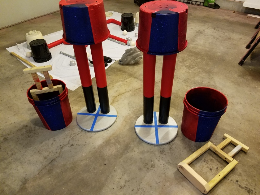Giant Nutcracker Project - Body Attachment