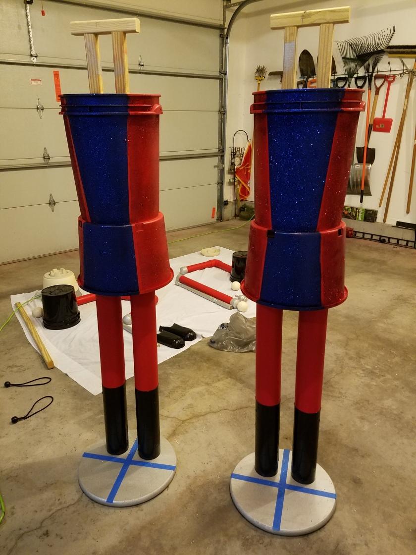 Giant Nutcracker Project - Body Attachment
