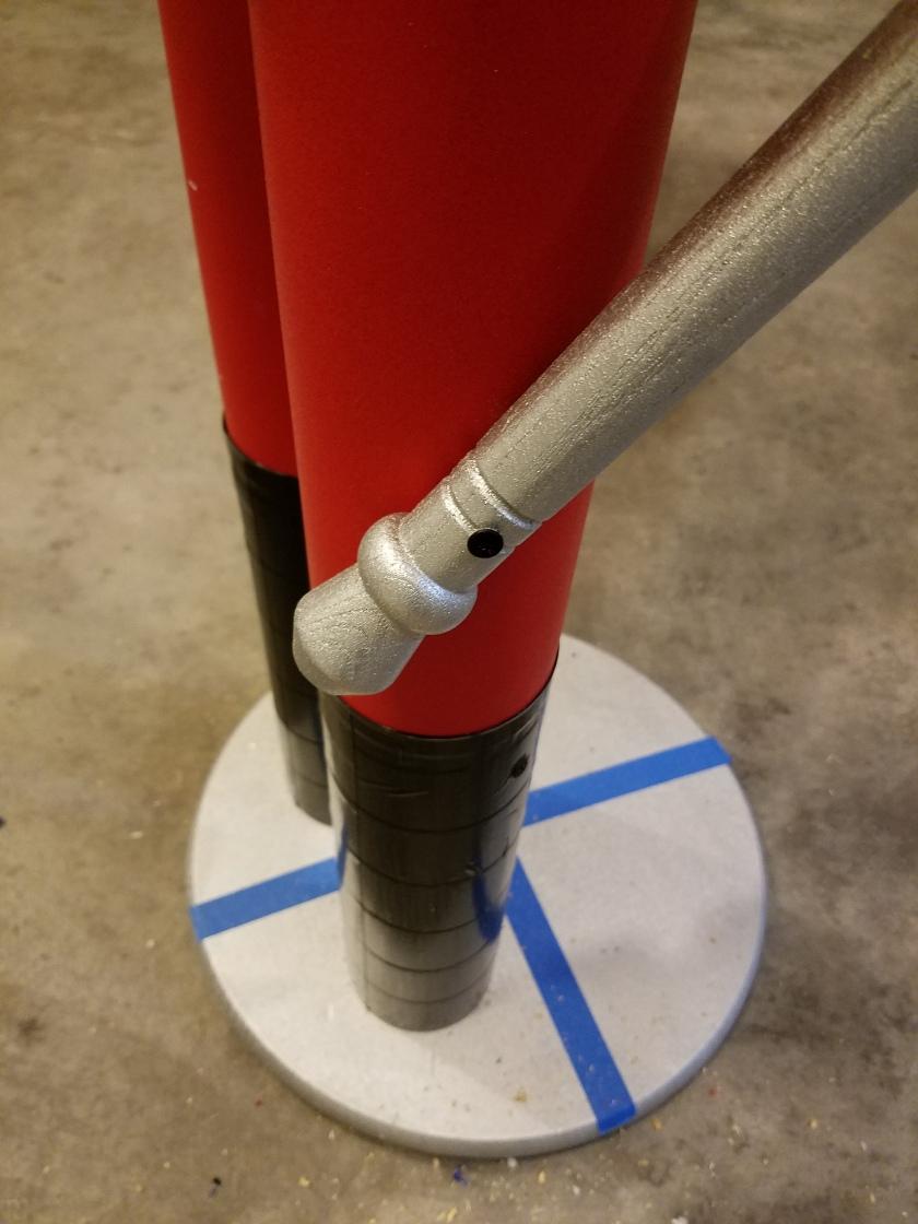 Giant Nutcracker Project - Arm Attachment/Stabilization
