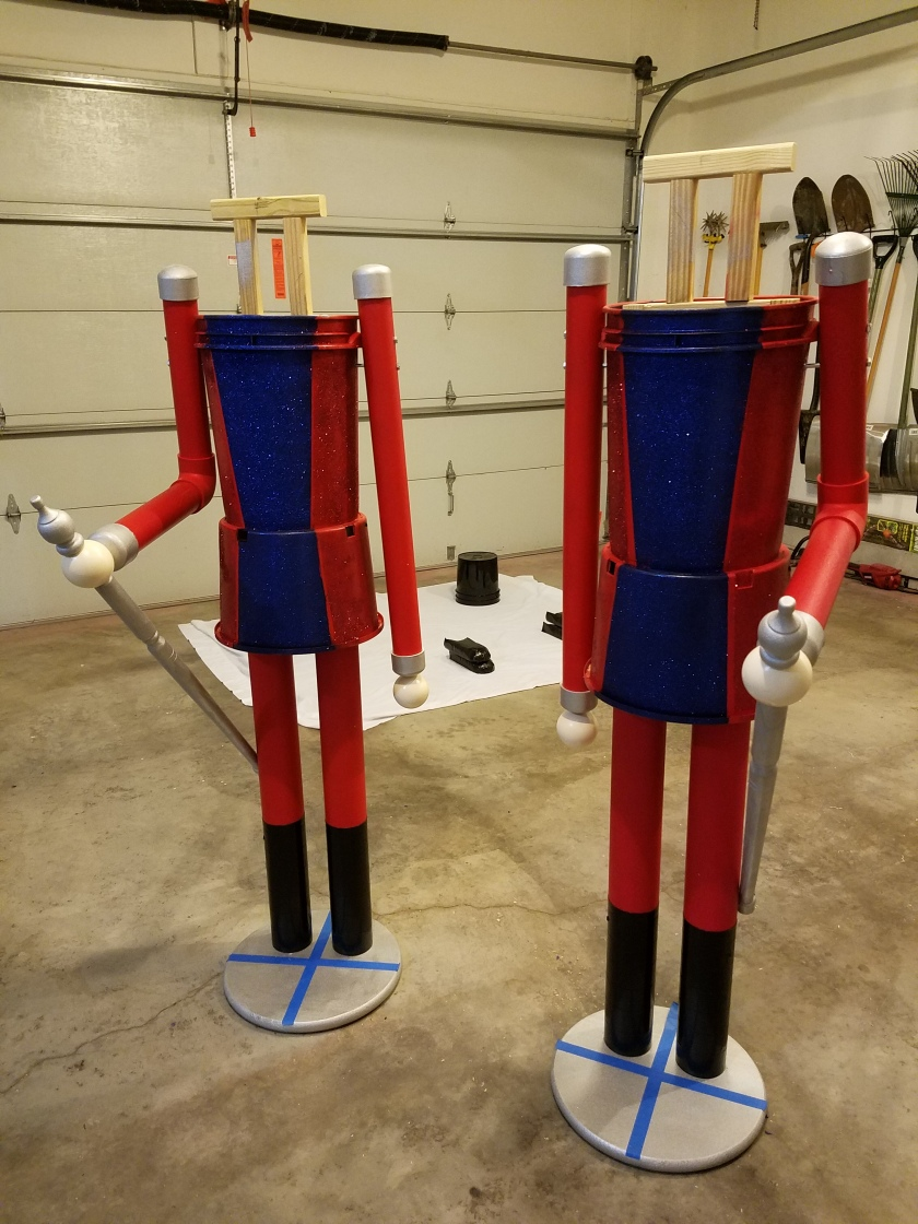 Giant Nutcracker Project - Arm Attachment