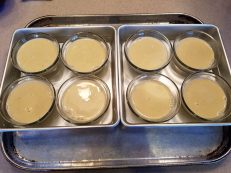 Creme Brulee -Ready for Oven