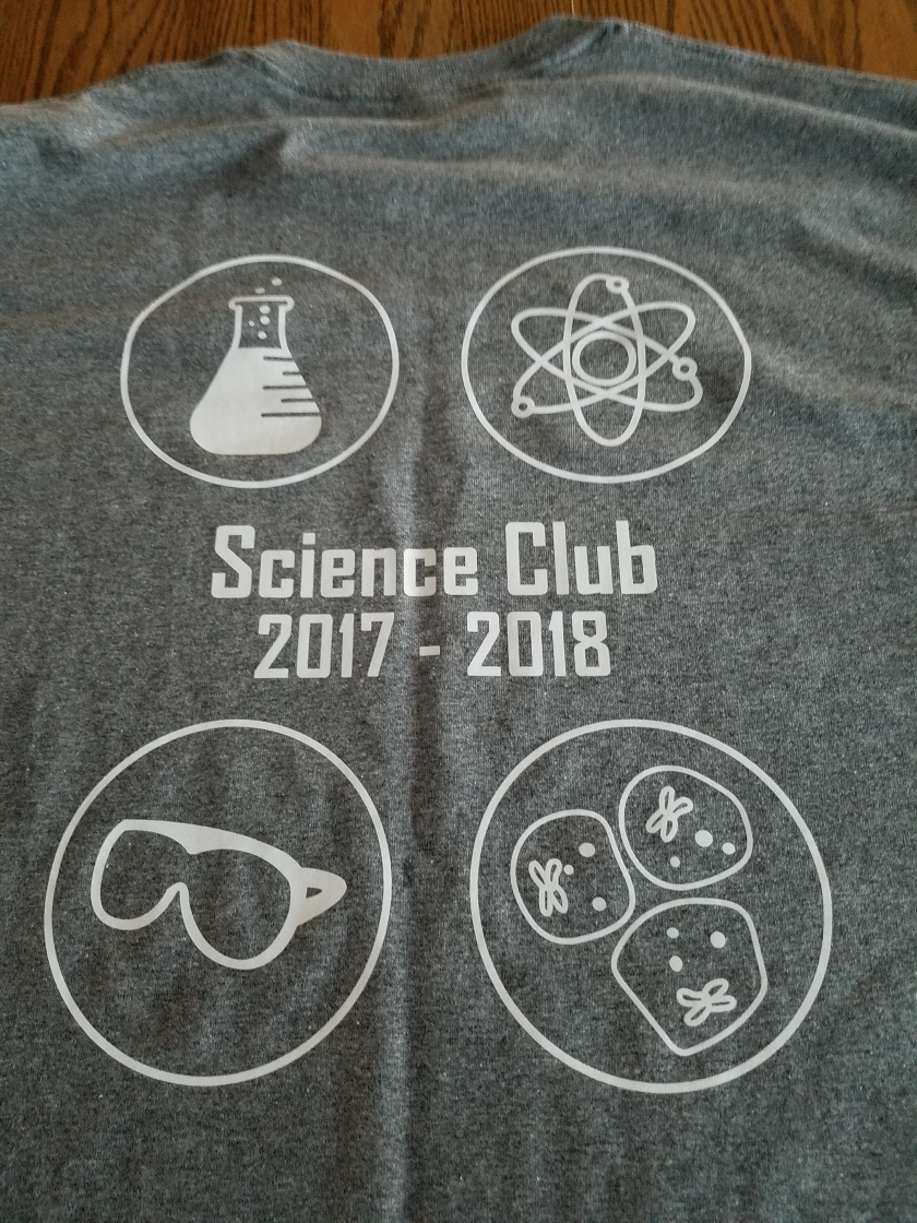 Science Club T - Back