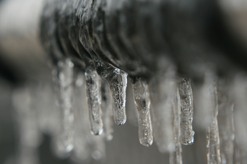 Line of Icicles