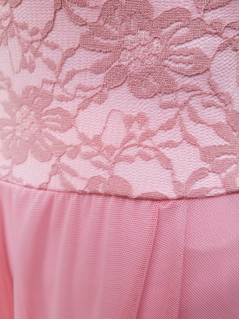 Pink Lace Ballet Costume