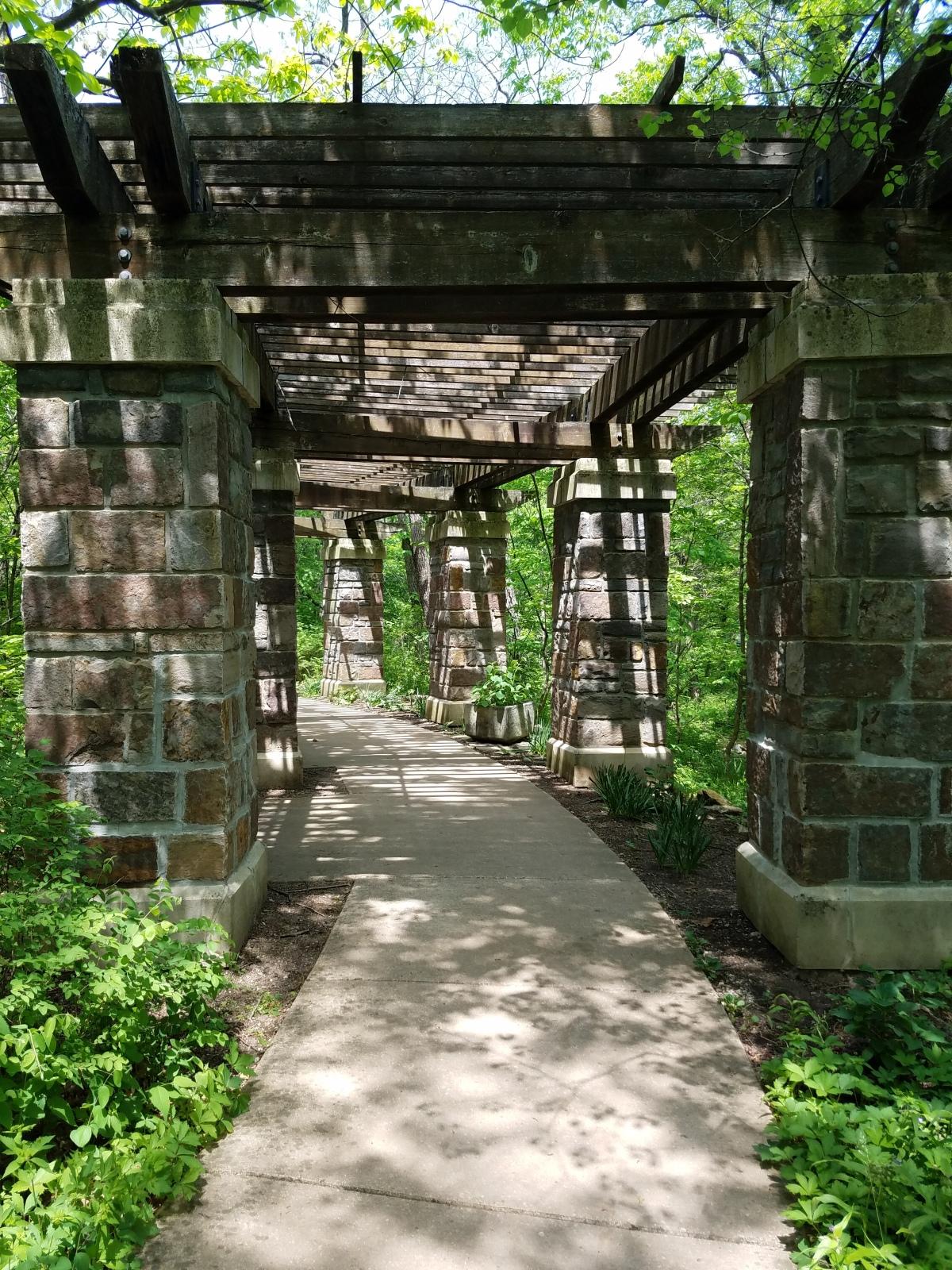 Pergola Pathway