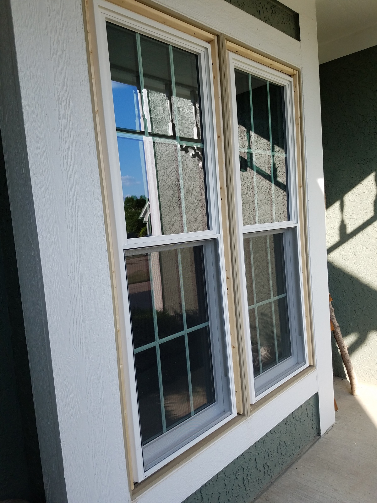 Mid-process Window Replacement