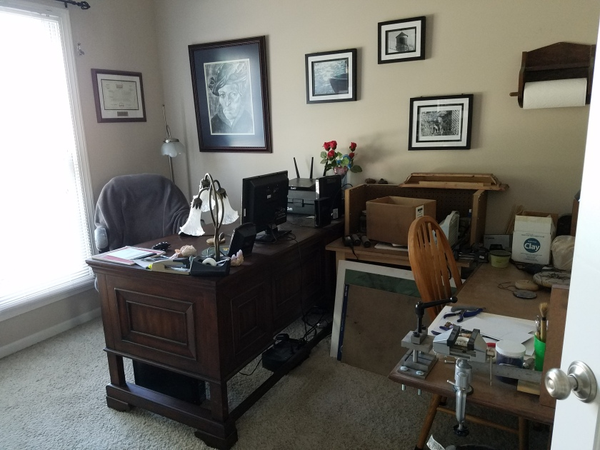 Office/Craft Room Before