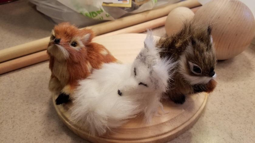 Santa Nutcracker - Animals