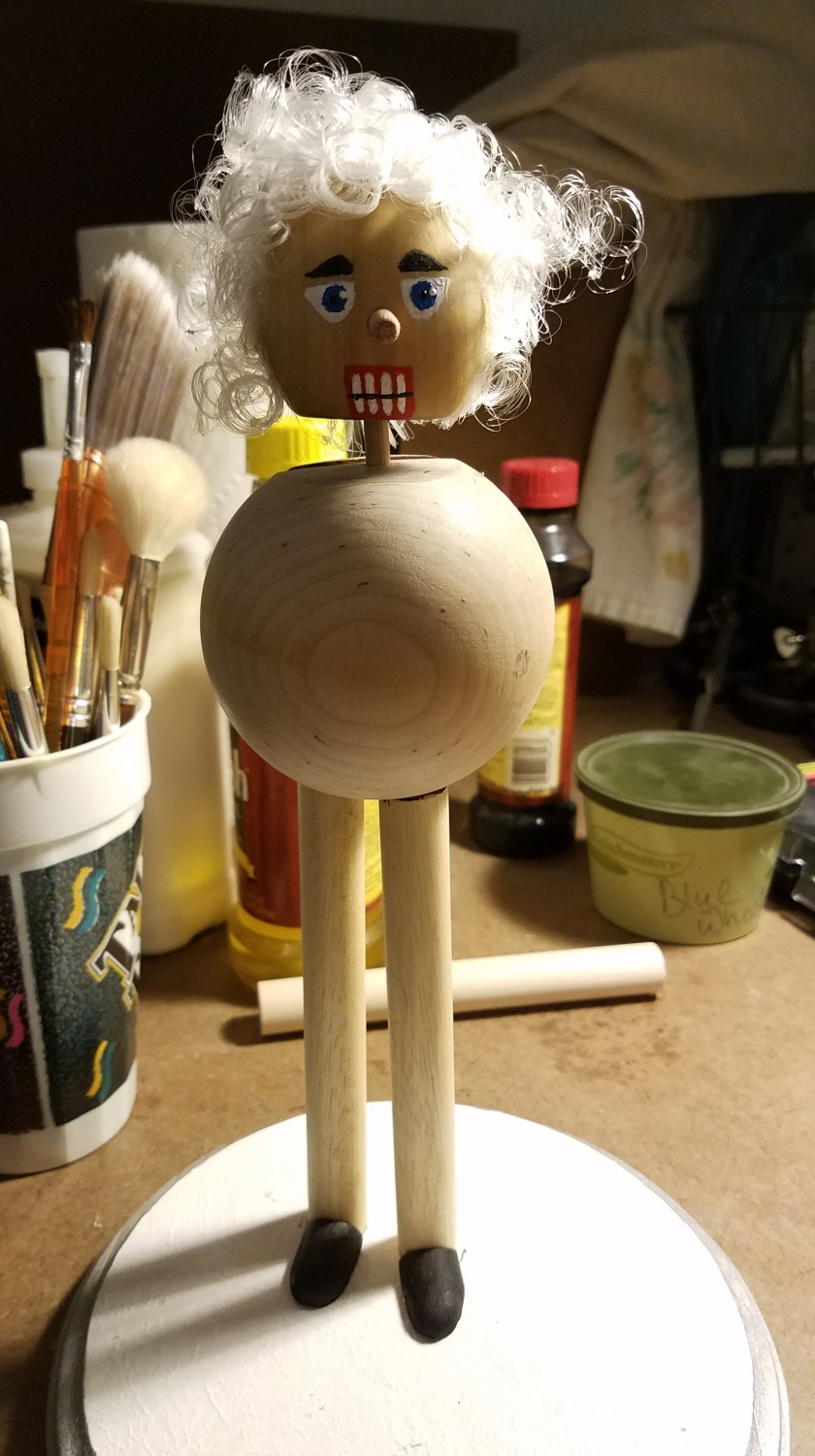 Santa Nutcracker - Assembly