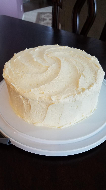 Pineapple Orange Jello Cake - Iced
