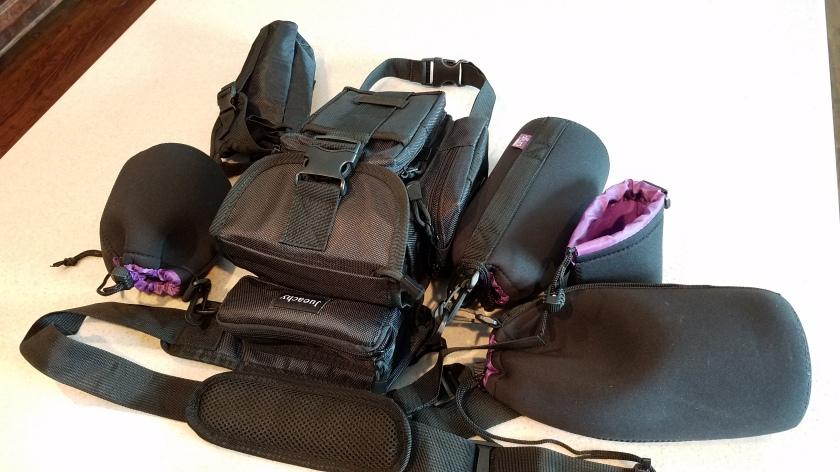 New Camera Equipment Bag Set up