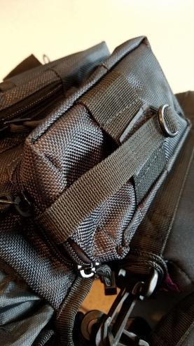 Camera Set Up - Side Pocket and small Strap
