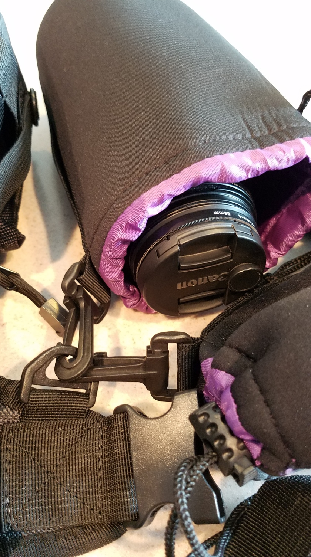 Camera Set Up - Lens Bags & Clips