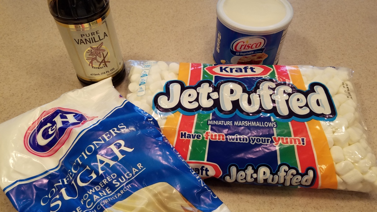 Marshmallow Fondant - Ingredients