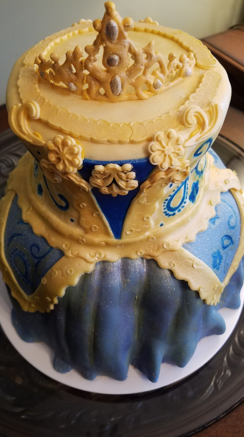 Pointe Costume Cake Top View