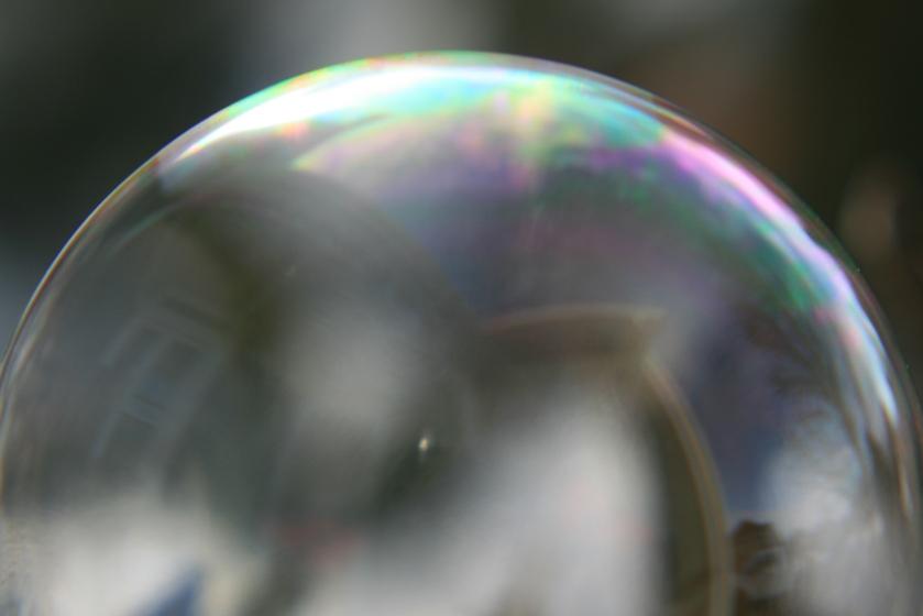 Bubble Before Freezing