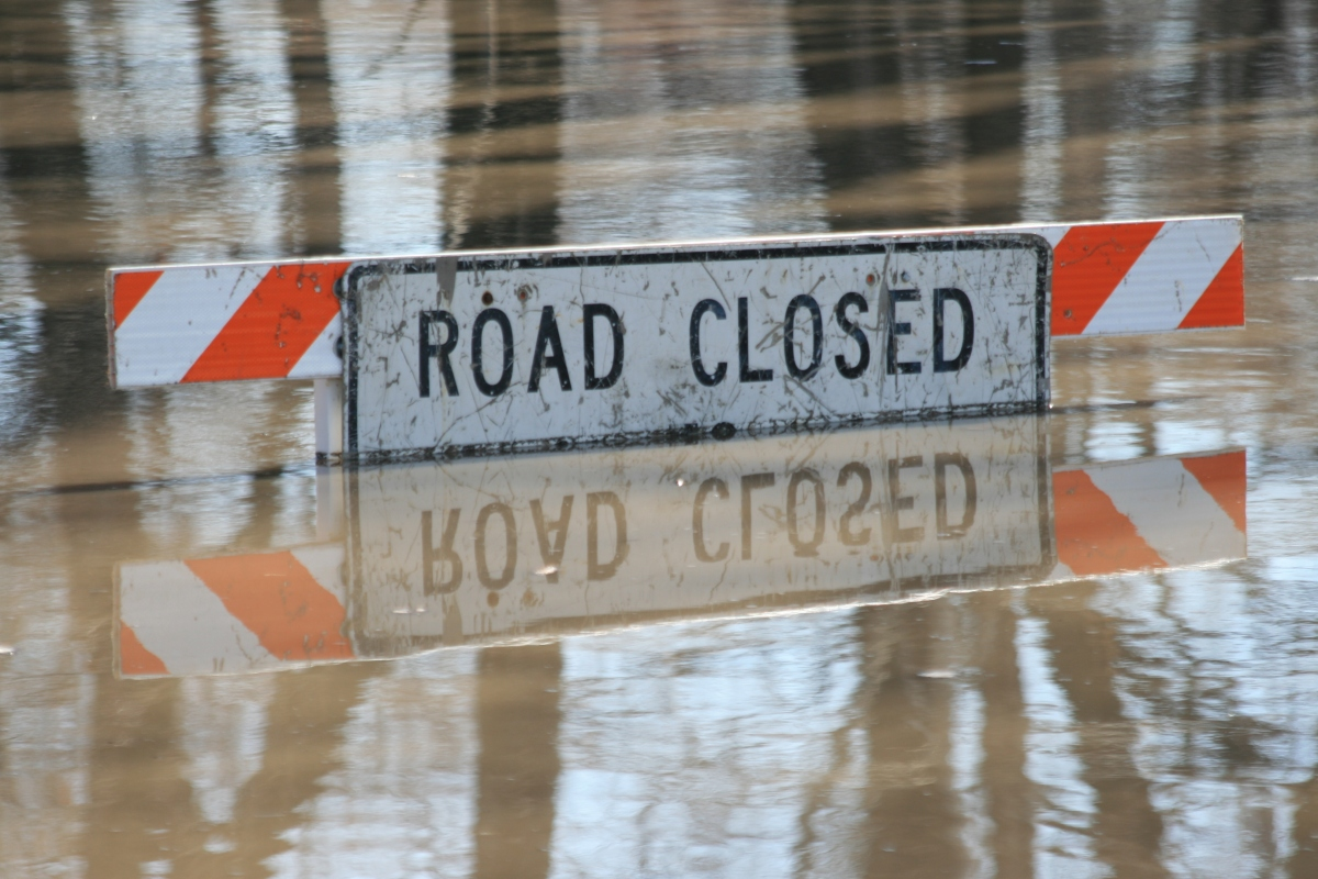 Road Closed: Flood