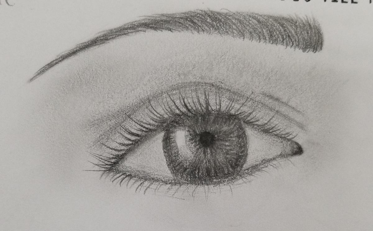 Eye Drawing By BG