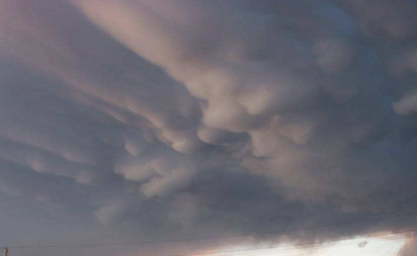 Dark Bubble Clouds